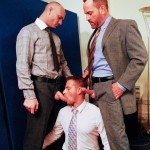 AlphaMales-Kurt-Rogers-and-Jake-Ryder-and-Matthew-Ford-Bareback-Threesome-Amateur-Gay-Porn-01-150x150 Three Office Hunks In Suits With Big Uncut Cocks Bareback Fucking In The Workplace