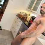 Maskurbate Muscle Hunk With A Big Uncut Cock Jerking Off Amateur Gay Porn 11 150x150 The Naked Chef Jerks His Big Uncut Cock In The Kitchen