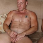 Bait Buddies Saxon and Javier Cruz Straight Ginger With Thick Cock Amateur Gay Porn 16 150x150 Straight Beefy Ginger Fucks His First Man Ass For Cash