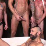 Raw-and-Rough-Piss-Tub-Bareback-Sex-Party-Amateur-Gay-Porn-02-150x150 Getting Bareback Fucked In The Piss Tub At The Gay Bar