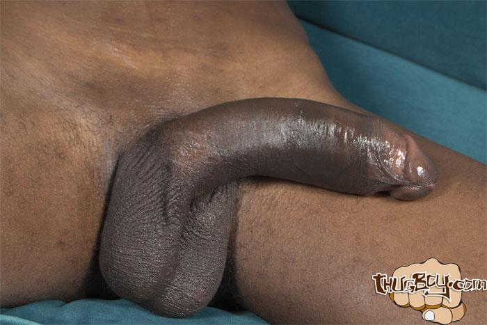 Thug-Boy-Tyrelle-Big-Black-Uncut-Cock-Jerk-Off-Amateur-Gay-Porn-59 Thug Boy Tyrelle Strokes His Big Black Uncut Cock