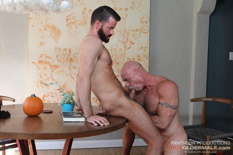 Hot Older Male Conor Harris and Brendan Patrick Hairy Muscle Daddy bareback Amateur Gay Porn 09 Hairy Muscular Daddy Conor Harris Barebacks Brendan Patrick