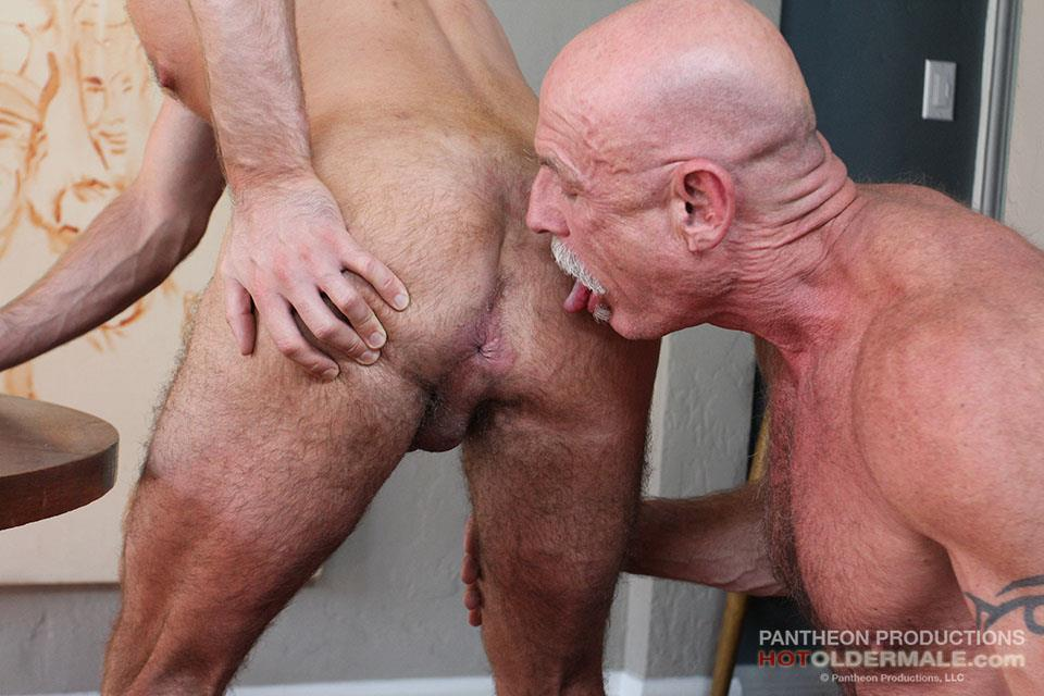 Hot Older Male Conor Harris and Brendan Patrick Hairy Muscle Daddy bareback Amateur Gay Porn 10 Hairy Muscular Daddy Conor Harris Barebacks Brendan Patrick