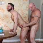 Hot Older Male Conor Harris and Brendan Patrick Hairy Muscle Daddy bareback Amateur Gay Porn 12 150x150 Hairy Muscular Daddy Conor Harris Barebacks Brendan Patrick