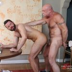 Hot Older Male Conor Harris and Brendan Patrick Hairy Muscle Daddy bareback Amateur Gay Porn 17 150x150 Hairy Muscular Daddy Conor Harris Barebacks Brendan Patrick