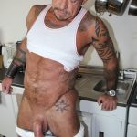 Cum-Pig-Men-Ray-Dalton-Daddy-Gets-His-Big-Cock-Sucked-19-150x150 Sucking The Cum Out Of A Big Thick Daddy Cock