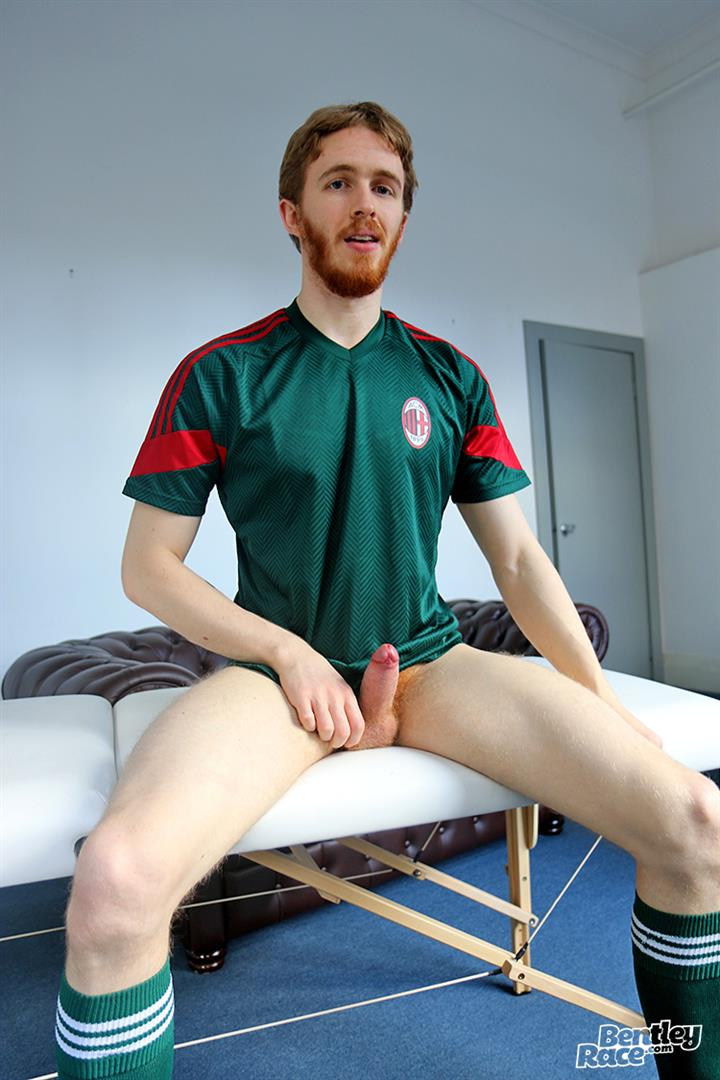 Bentley-Race-Tomas-Kyle-Redheaded-Jock-With-A-Big-Uncut-Cock-10 Ginger Jock Busts Out His Big Uncut Cock And Hairy Balls