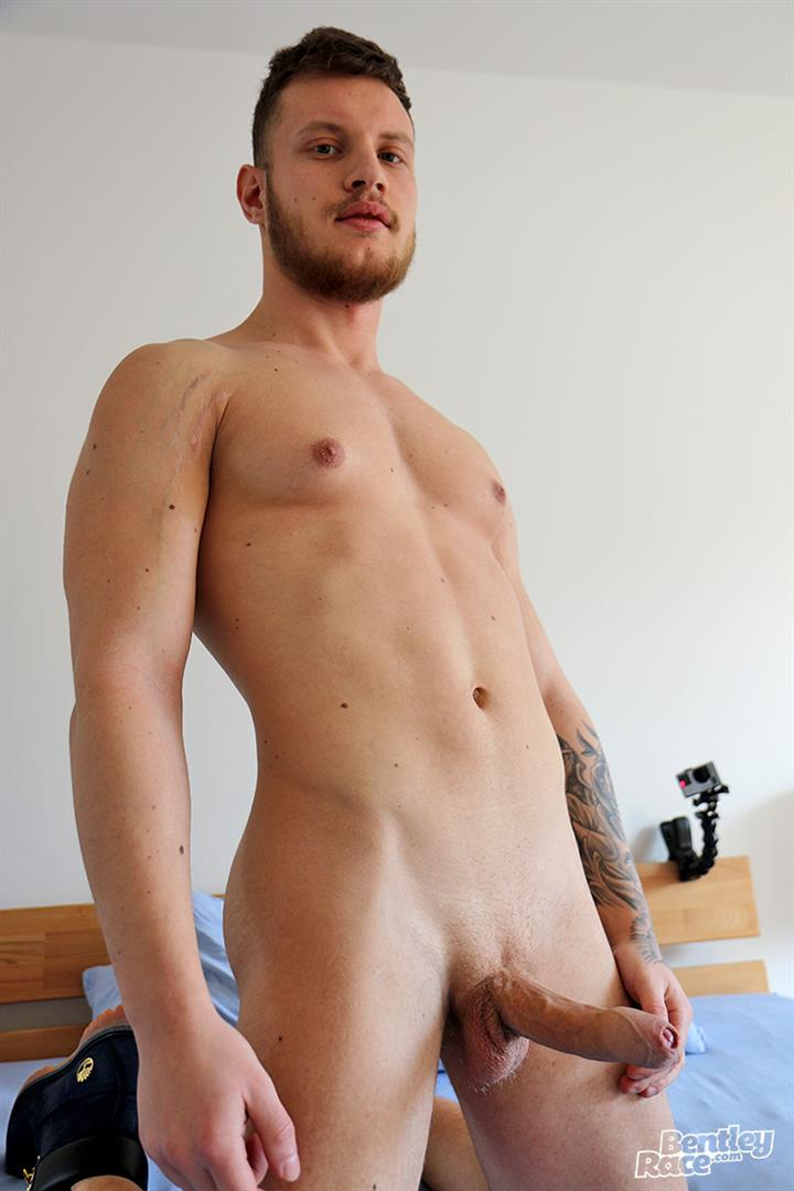 Bentley-Race-Christiano-Szucs-Naked-Hungarian-With-Big-Uncut-Cock-11 Hungarian Muscle Stud Jerks Off His Big Uncut Cock