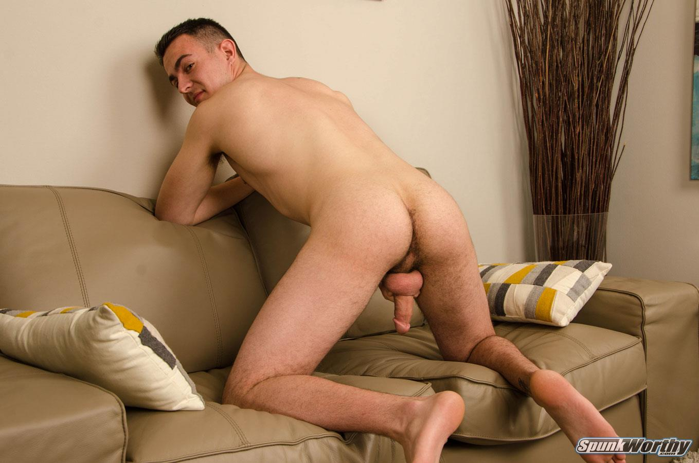 SpunkWorthy-Ryan-Kroger-Gay-Porn-Audition-Video-Jerk-off-12 Auditioning For Gay Porn And Jerking Out A Big Load Of Cum
