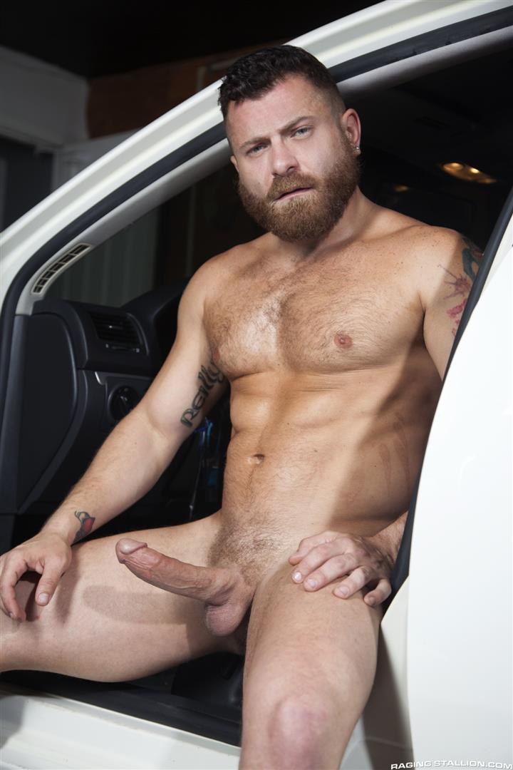 Raging-Stallion-Riley-Mitchell-and-Max-Konnor-Big-Black-Cock-Fucking-Hairy-Muscle-Bear-03 Max Konnor Fucks His Ride Share Driver In The Ass With His Big Black Dick