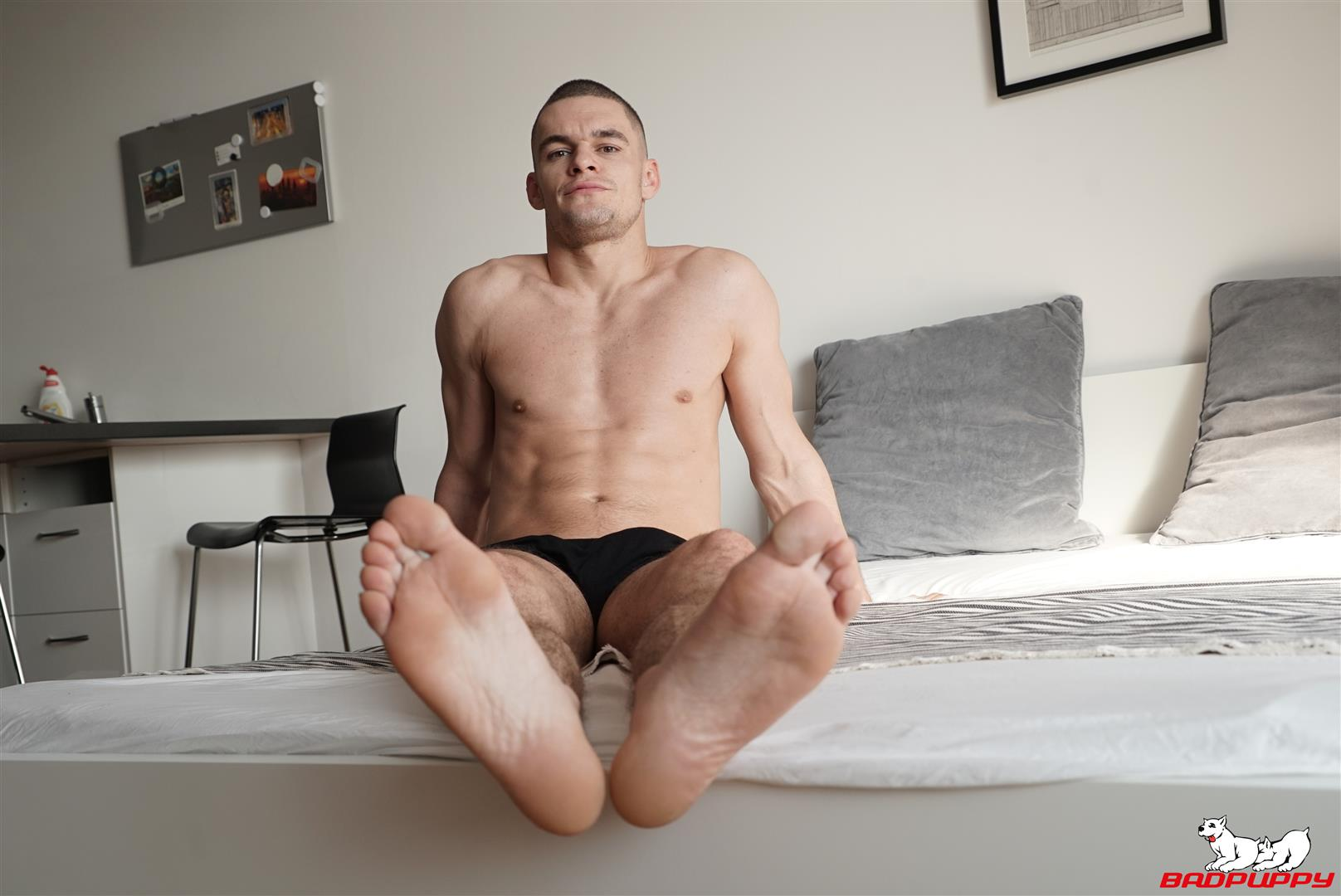 Badpuppy-Max-Dior-Big-Uncut-Cock-Jerkoff-Video-07 Waking Up From A Nap And Jerking Off My Big Uncut Cock