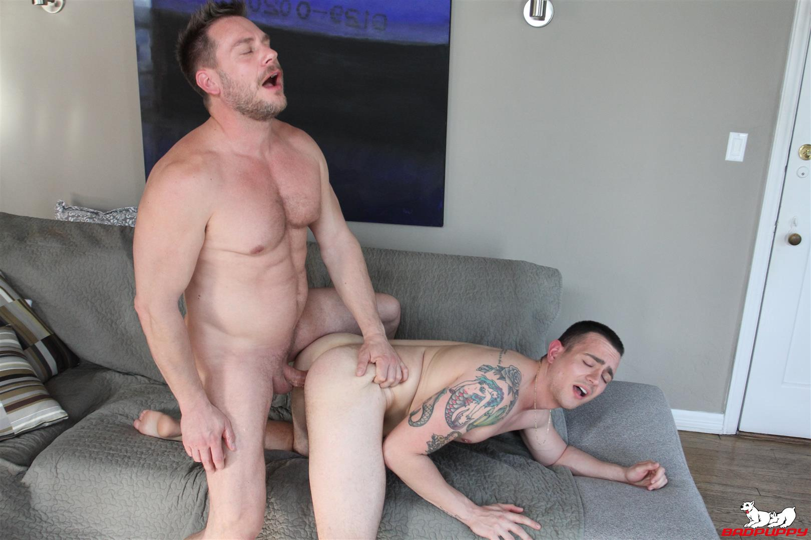 Badpuppy-Hans-Berlin-and-Ryan-Kroger-Big-Dick-Daddy-Barebacking-Boy-10 Big Dick Daddy Hans Berlin Barebacking Ryan Kroger